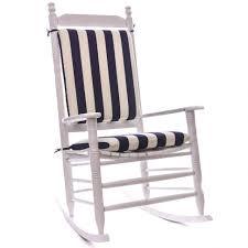 chairs Knife Edge Rocking Chair Cushion Set Home Furniture