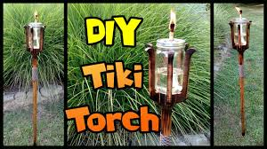 DIY Tiki Torch | Mason Jar & Custom Pole