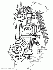 Small Picture Fire truck coloring pages