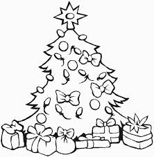 Small Picture Christmas Decorations Coloring Page Free Download