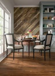 Wood Feature Accent Wall Ideas Using Flooring   Fox Hollow Cottage Nice Look