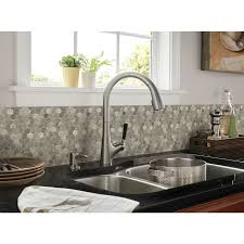 Silver Creek Kitchen Cabinets Shop Anatolia Tile Silver Creek Polished Natural Stone Mosaic