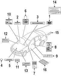 2009 infiniti g37 fuse box label