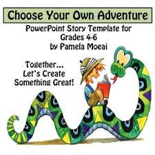 Choose Your Own Adventure Story Template Creative Writing Choose Your Own Adventure Powerpoint Interactive