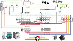 3 phase motor wiring diagram two sd motor starter connection and working function animationtwo sd motor starter connection and working function