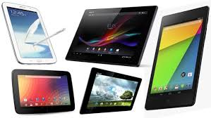 The Best Android Tablets 2014 Comparison Chart Android Vip