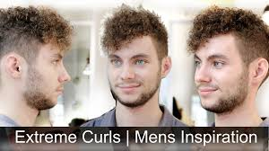 Mens Curly Hair Style extremely curly hair mens haircut inspiration tutorial by 2890 by wearticles.com