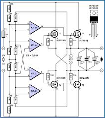 power mosfet active bridge rectifier circuit project circuit diagram power mosfet active bridge rectifier