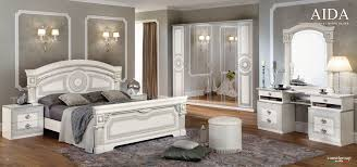 classical italian bedroom set. Aida White W/Silver, Camelgroup Italy, Classic Bedrooms, Bedroom Furniture Classical Italian Set