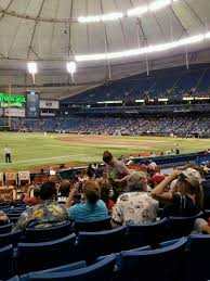 Tropicana Field Section 133 Home Of Tampa Bay Rays