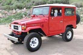 1983 Red FJ40 Toyota Land Cruiser For Sale At TLC! - YouTube