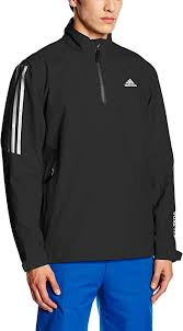 adidas Men's Gore Tex <b>2</b>-<b>Layer Half</b> Zip <b>Jacket</b>: Amazon.co.uk ...