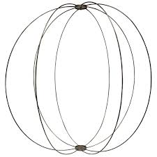 Wire sphere celebrations party rentals