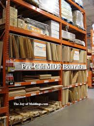 mdf board pre cut molding projects home depot the joy of moldings com