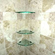 glass corner shelf bathroom glass corner shelves shower corner shelf glass corner shelf home depot