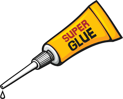 a ilrated bottle of super glue