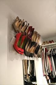 small closet shoe storage best unique shoe rack ideas images on good ideas coat storage and