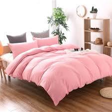 plain white cotton king size duvet cover pink bedding king size duvet cover twin full queen
