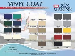 Sem Vinyl Color Chart Sem Marine Vinyl Coat Bundle Savers