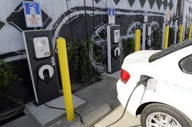 Electric Car Charging Stations Open In Arts District News