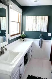 how to paint bathroom countertops how to paint tile and our modern bathroom reveal how to