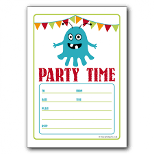 invitation party templates template for party invitation birthday party invitation template