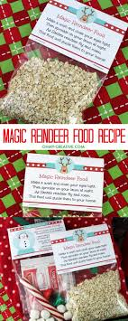 Magic Reindeer Food Recipe and Printable. Christmas Party ...
