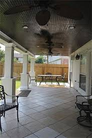 covered patio lights. Another View Of The Patio With Fans And Recessed Lighting Covered Lights