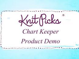 Knit Picks Chart Keeper Knit Knit Picks Chart Keeper Product Demo Knit Picks Chart