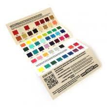 Signriteonline Oneshot Colour Chart