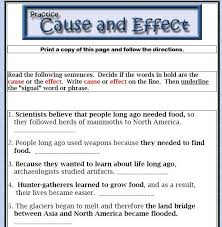 best text structures images text structures each sentence and decide if the words in bold are the cause or the effect