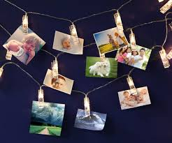 Photo Clip String Lights Walmart Usb Led Photo Clip String Lights 10 Leds Warm White As
