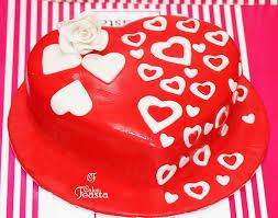 White Hearts Anniversary Cake Marriage Anniversary Cake Images