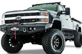 WARN Heavy Duty Truck Bumper, Ascent, Fit 2015-2016 Chevy ...