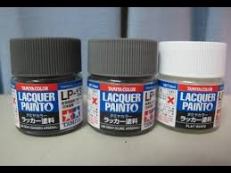 Tamiya Lacquer Paint Chart Model Kit Workshop 127 Tamiya Color Lacquer Paint Review