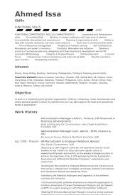Administrative Director Sample Resume 14 Combination Resume Sample