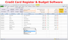 Budget Tracking Template Delectable Excel Budget Spreadsheet And Checkbook Register Software