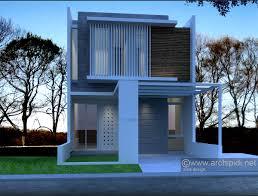 desain rumah minimalis lebar 6m 2 lantai cibubur jpg 600 456