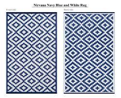 nirvana navy white indoor outdoor
