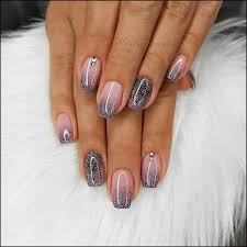 Short Nail Designs With Glitter 56 Glitter Gel Nail Designs For Short Nails For Spring