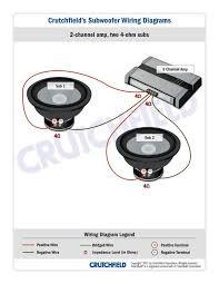 ohm subwoofer wiring image wiring diagram wiring 2 4ohm subs wiring auto wiring diagram schematic on 4 ohm subwoofer wiring