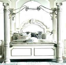 Wood Canopy Bedroom Sets Black Bed King Dark – tokiesmixes.com