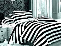 black and white striped duvet cover nz