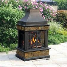 heirloom outdoor fireplace insert kit sunjoy replacement parts reviews covers