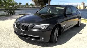 Coupe Series 2010 bmw 750 for sale : 2009 BMW 750Li Dark Graphite Metallic A2822 - YouTube