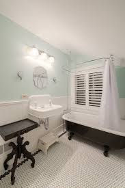traditional black bathroom. View In Gallery Claw-foot Bathtub For The Traditional Bathroom [Design: HighCraft Builders] Black E