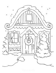 Happy halloween coloring sheets for kids to printe7ab. 80 Best Winter Coloring Pages Free Printable Downloads