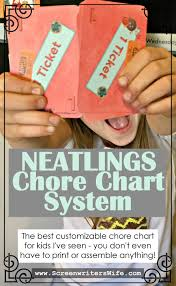 Neatlings Chore Chart Neatlings The Best Customizable Chore Chart For Kids