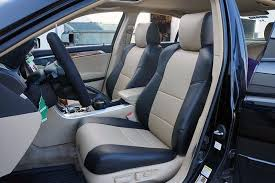 acura tl 2004 2008 iggee s leather custom fit seat cover 13 colors