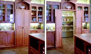 24 inch deep cabinets.  Deep The Cabinets On Both Sides Of The Hidden Pantry Door Are 12 Inches Deep  But Cabinetmaker Byron Clinkingbeard Says This Installation Also Works For  In 24 Inch Deep Cabinets W